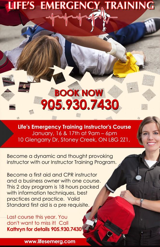 Instructors Course Jan 2016