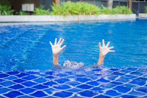 child drowning in family backyard pool