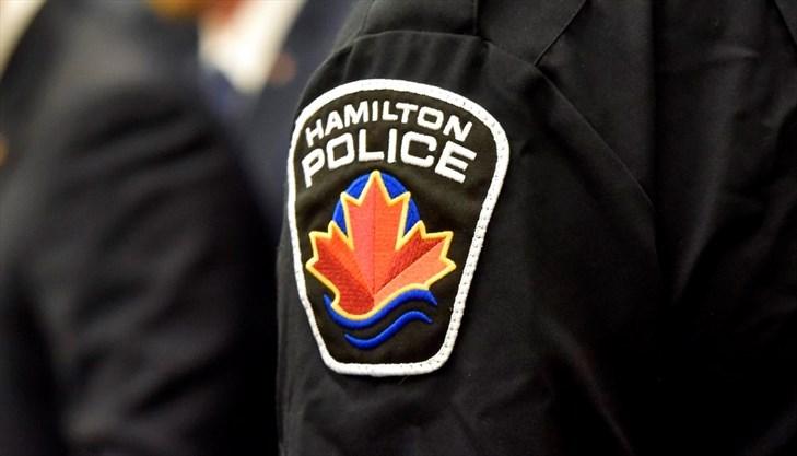 Hamilton Police Officer shoulder flash